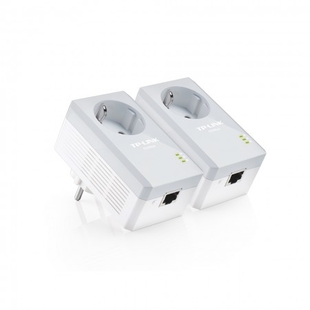 TP-Link TL-PA4010P KIT Powerline Adapter with AC Pass 600Mbps
