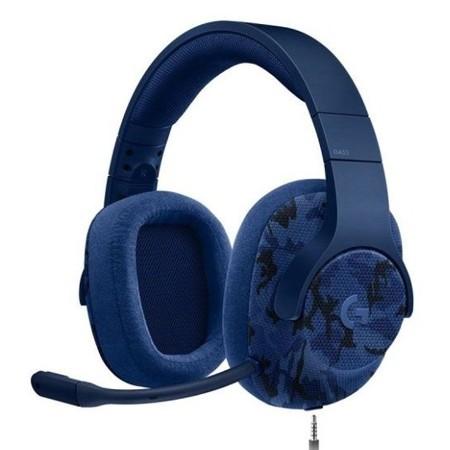 Logitech Slusalice G433 7.1 Navy Blue