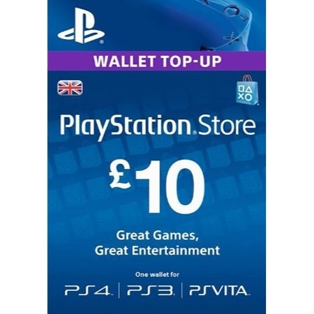 PSN UK dopuna kredita 10 GBP /Digital Code