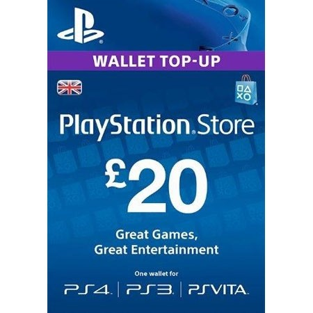 PSN UK dopuna kredita 20 GBP /Digital Code