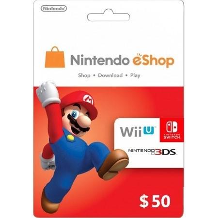 Nintendo USA dopuna kredita 50 USD /Digital Code