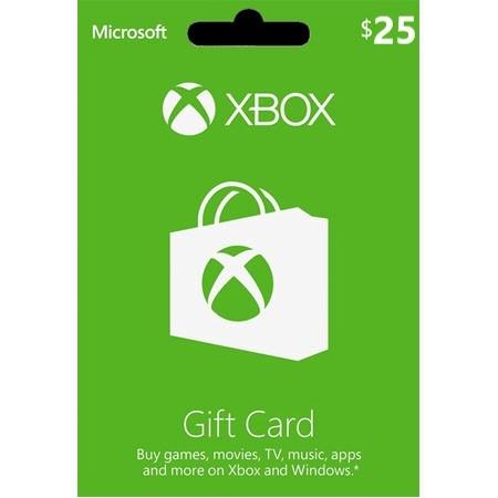 XBOX Live dopuna kredita 25 USD /Digital Code