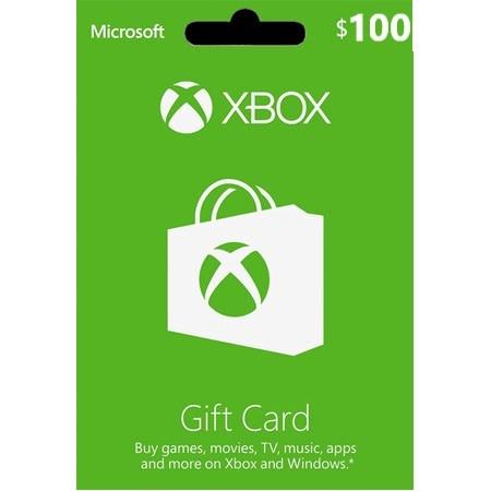 XBOX Live dopuna kredita 100 USD /Digital Code