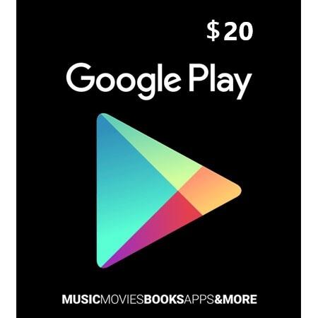 Google Play dopuna kredita 20 USD /Digital Code