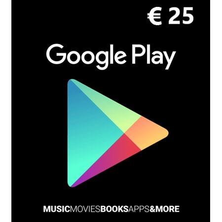 Google Play dopuna kredita 25 EUR /Digital Code