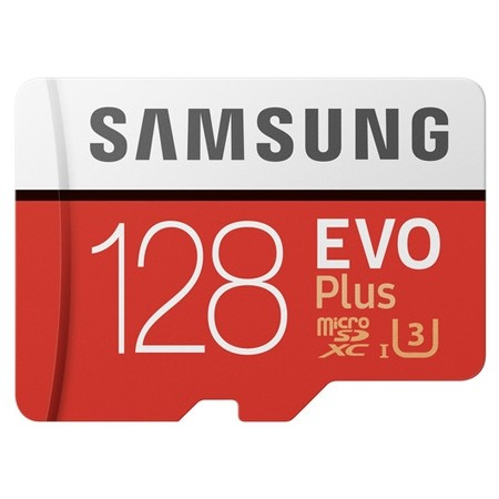 Samsung EVO Plus UHS-I Micro Memory Card 128GB Class10