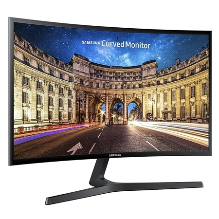 "24"" Samsung LC24F396FHUXEN Curved display"