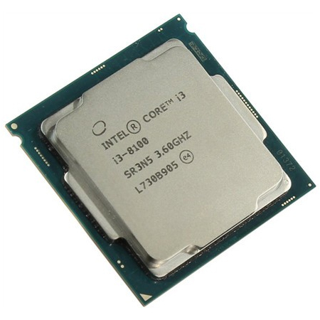 Intel Core i3 8100 3.6GHz Tray