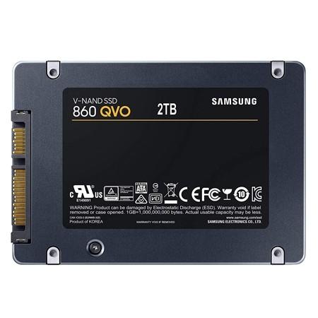 "Samsung SSD 2TB 860 QVO 2.5"" SATA3"