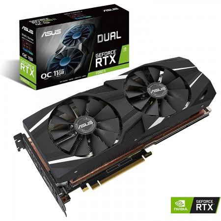 ASUS nVidia GeForce DUAL RTX2080TI-O11G GDDR6