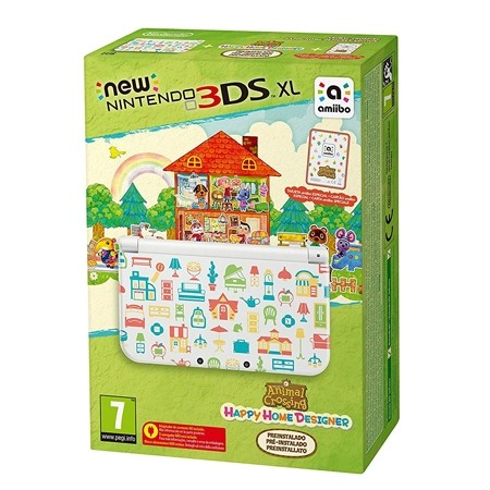Konzola Nintendo New 3DS XL + Animal Crossing Happy HD + Card Set