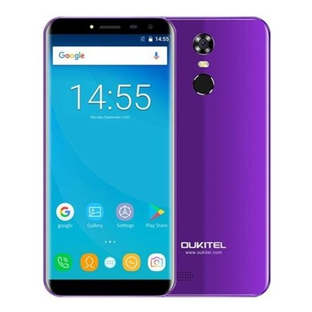 Oukitel Smartphone C8 4G Purple + Black Cover