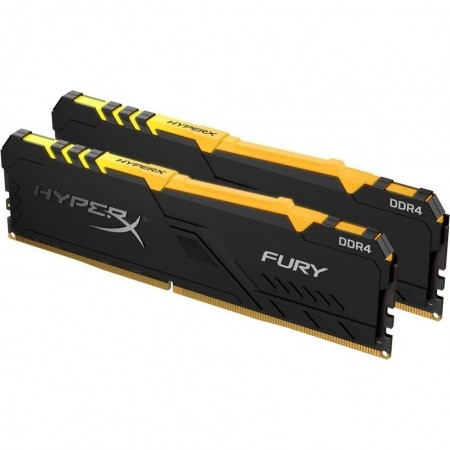 Kingston Hyperx Fury Black DDR4 32GB 3200MHz RGB