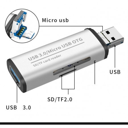 Card Reader USB 3.0 ADS-102