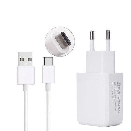 XO 2-port USB wall charger L35D 2.4A + Type-C cable
