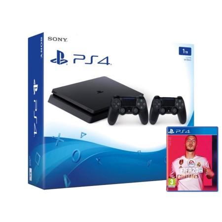 Konzola Playstation 4 1TB Slim F chassis + Dualshock Kontroler V2 + FIFA 20