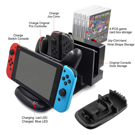 Multi-Function Charging Stand Nintendo Switch MIND-408