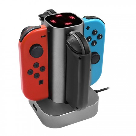 Nintendo Switch 4in1 Aluminum Charging Stand