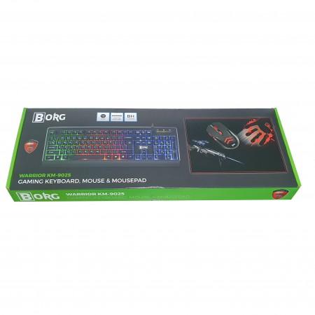 BORG Bundle Miš, Tastatura i Podloga KM-9025