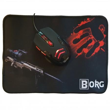 BORG Gaming Miš i Podloga MO016+P002