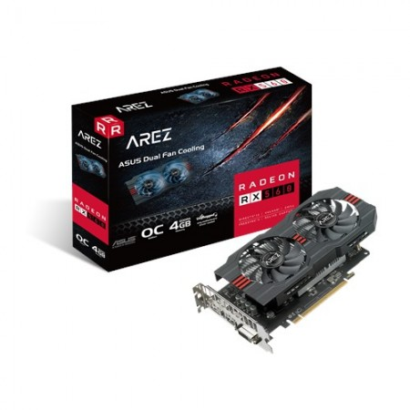 ASUS AMD Radeon AREZ RX560-O4G-EVO