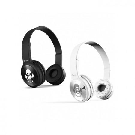 iDance Bluetooth Duo Headphones Black and White