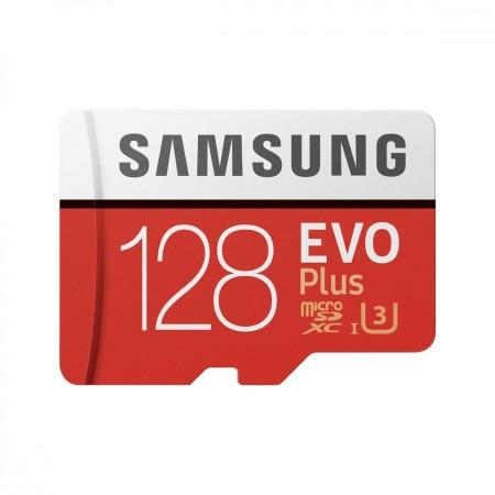 Samsung EVO Plus Micro SDXC Memory Card 128 GB Class10