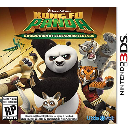 Kung Fu Panda : Showdown Of Legendary legends /3DS