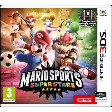 Mario Sports Superstars and Amiibo Cards /3DS