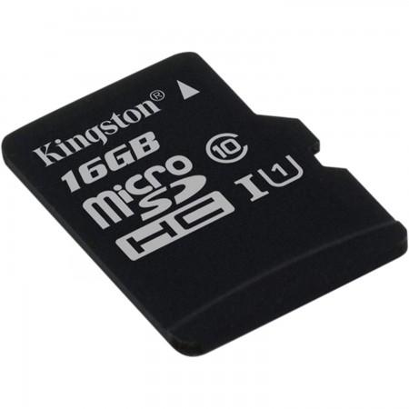 Kingston Micro SDHC Canvas Select Memory Card 16GB Class10