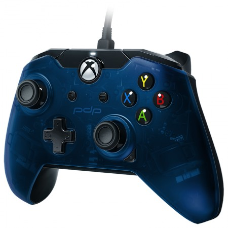 PDP Wired Controller for Xbox One / PC- Blue