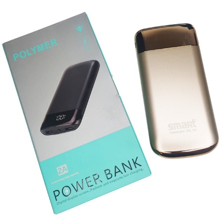 Polymer Smart Power Bank 12000mAh
