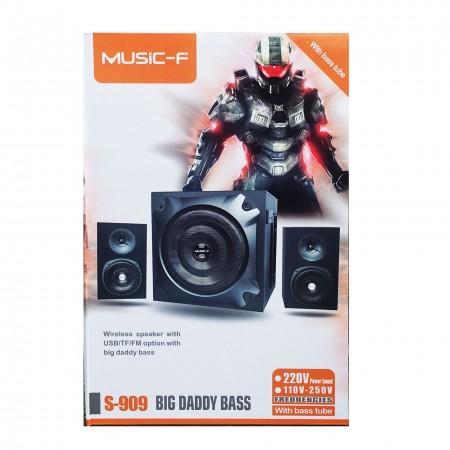 MUSIC Big Daddy Bass Speaker S-909