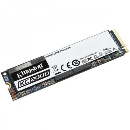 Kingston SSD 250GB KC2000 M.2, NVMe