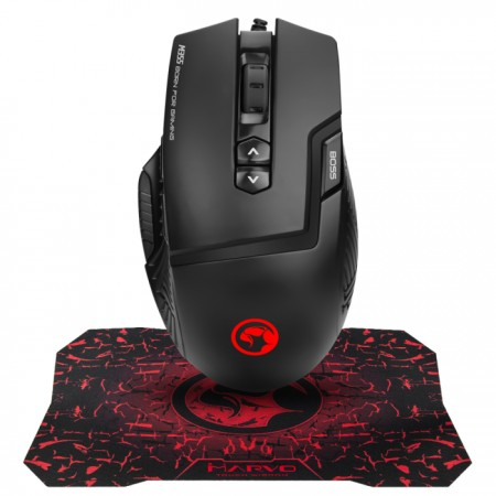 Marvo Gaming miš i podloga set M355+G1