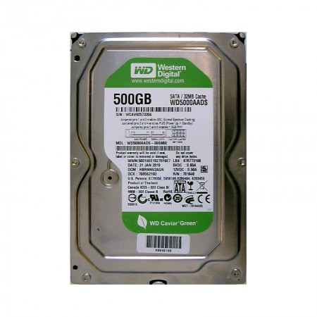 WD Caviar 500GB SATA2 HDD Green