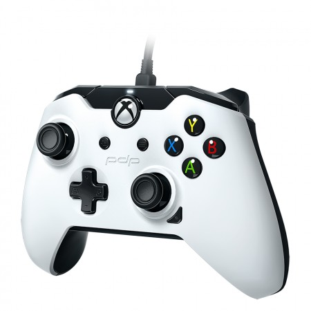 PDP Wired Controller for Xbox One / PC- White