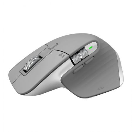 Logitech Miš MX Master 3 Bluetooth Mid Grey