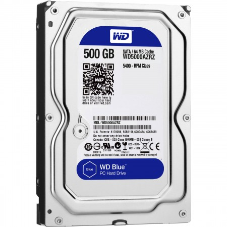 WD HDD 500GB SATA3 Pull