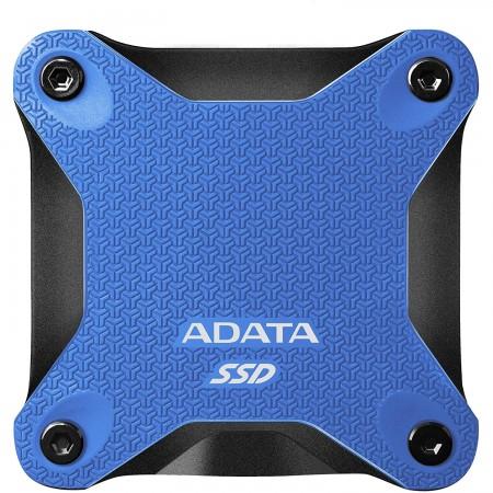 ADATA 480GB external SSD ASD600Q Blue