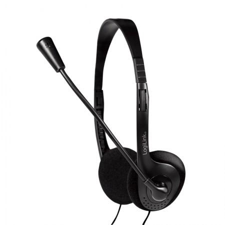 Logilink Slušalice sa mikrofonom Deluxe HS0001