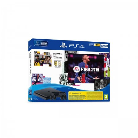 Konzola Playstation 4 500GB Slim F Chassis + FIFA 21 + FUT VCH + Dualshock 4 kontroler V2