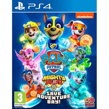 Paw Patrol Mighty Pups Save Adventure Bay /PS4