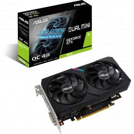 ASUS nVidia GeForce DUAL-GTX1650-O4GD6-MINI
