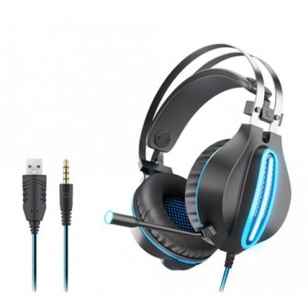 OVLENG GT62 Gaming Slušalice Blue