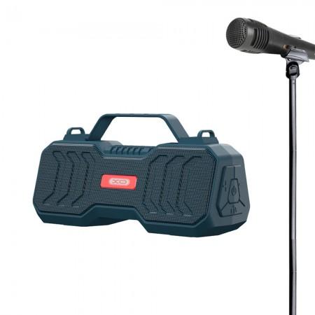 XO Bluetooth Speaker + Karaoke MIC F26 Black