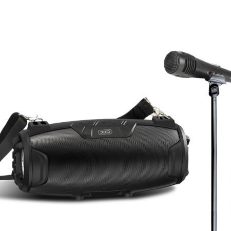 XO Bluetooth Speaker + Karaoke MIC F25 Black