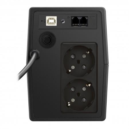Mustek PowerMust 800 LCD Line Interactive UPS Schucko