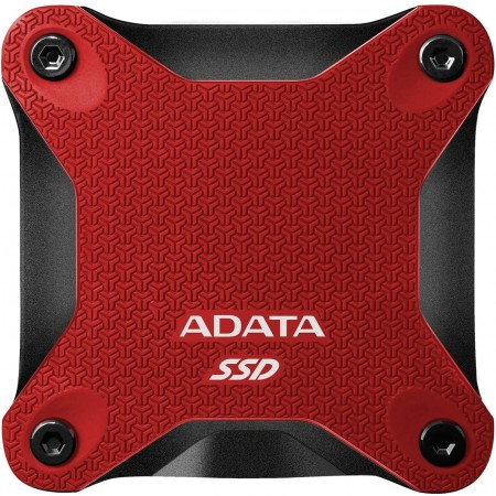 ADATA 480GB external SSD ASD600Q Red