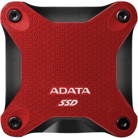 ADATA 480GB external SSD ASD600Q Red